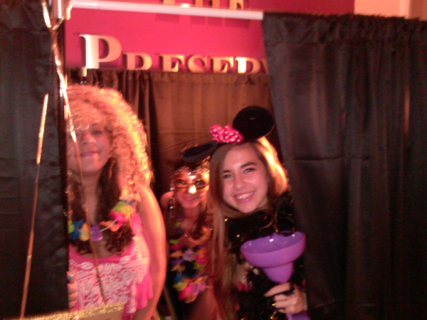 DJ photo booth